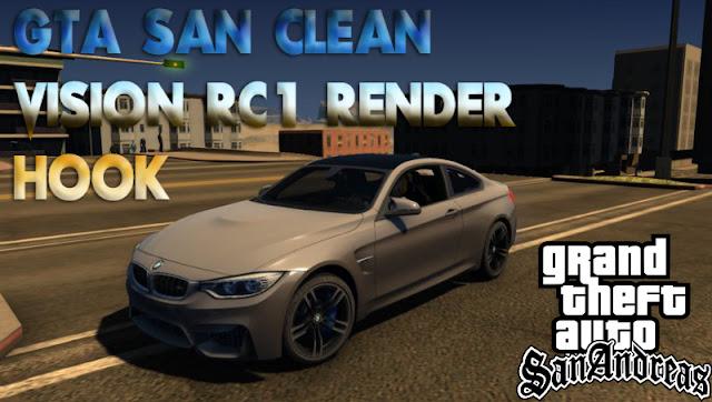 GTA SAN Clean Vision RC1 Renderhook Free Download