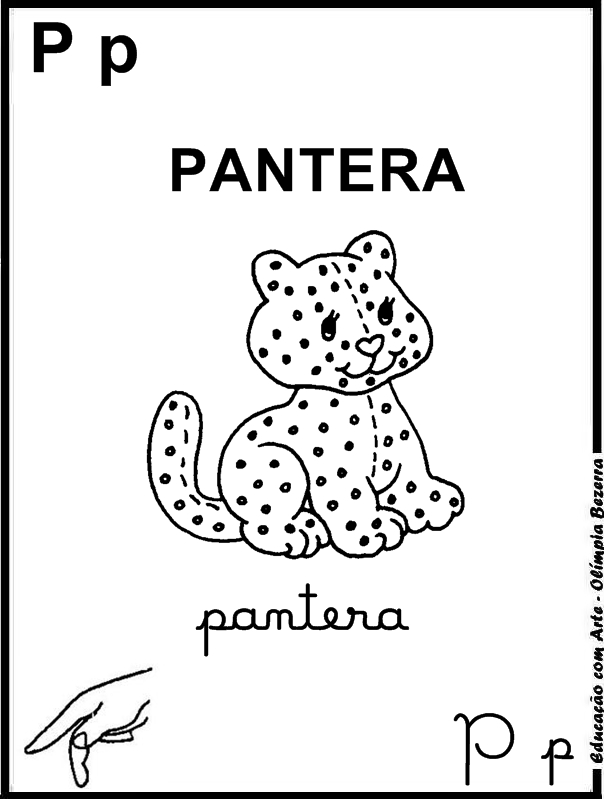 Educacao Com Arte 2 Alfabeto Dos Animais 4 Tipos De Letras E Libras