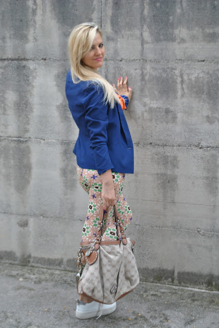 outfit blu come abbinare il blu outfit blazer blu outfit blu come abbinare il blu abbinamenti blazer blu how to wear blue how to wear blazer blue blazer outfit outfit estivi outfit luglio 2015 mariafelicia magno fashion blogger fashion bloggers italy july outfits summer outfits influencer italiane italian influencer