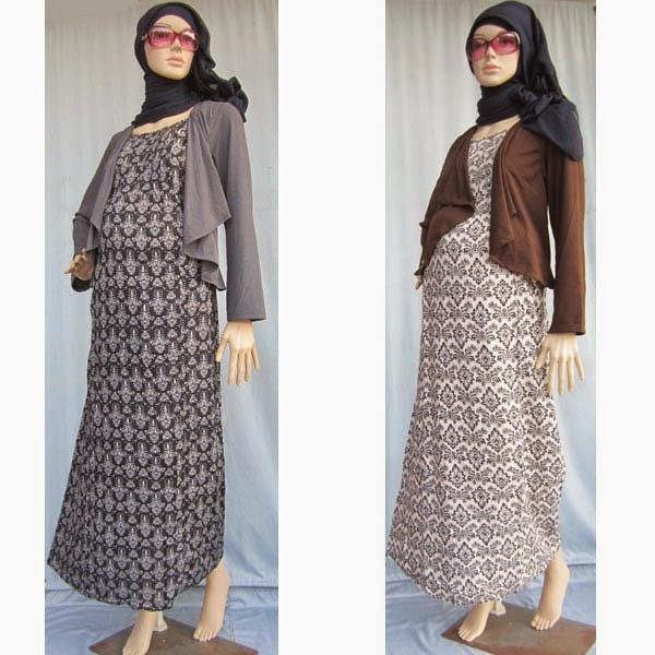 Jilbab Untuk Baju Batik: Contoh Model Baju Hamil Hijab Muslim Modis Dan Trendy