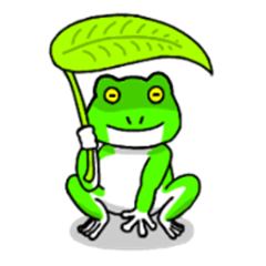 Frog usable with talk