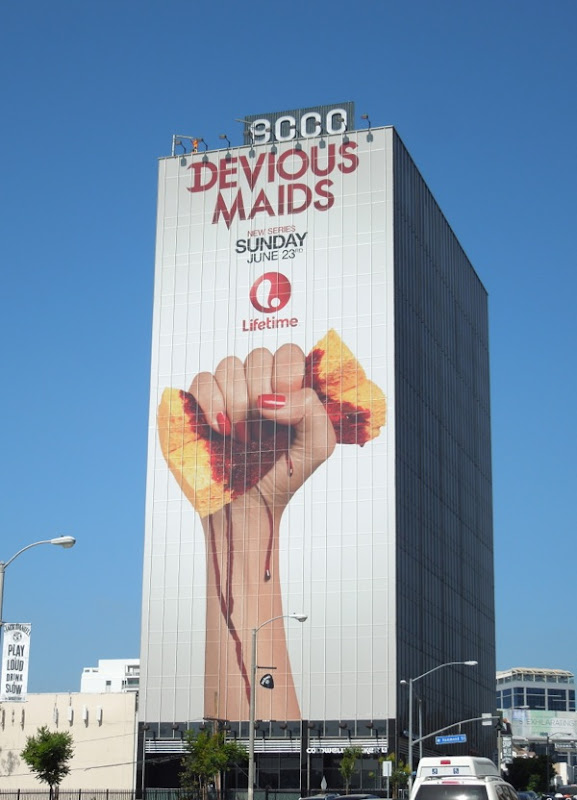 Giant Devious Maids season 1 billboard