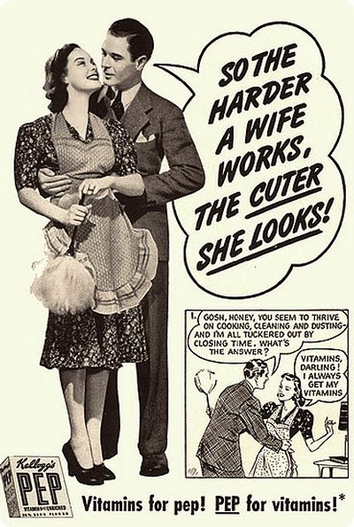 black and white vintage ad