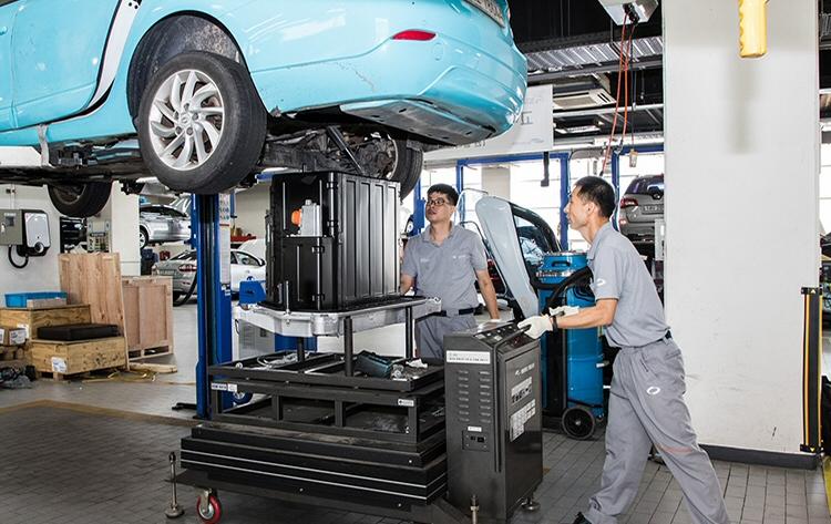 르노삼성자동차-LG화학, '전기차 폐배터리 활용 에너지저장장치' 개발 업무협약