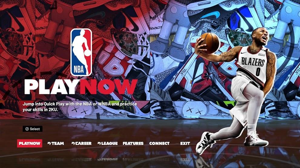 NBA 2K21 Pandemic edition - loading screen and menu background by Gil Kweba