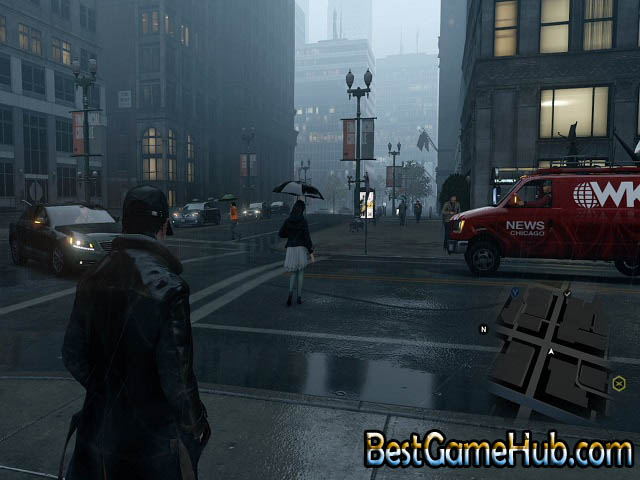 Watch Dog Compressed PC Game With Crack Download