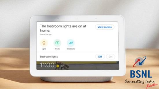 BSNL Broadband Google Nest Mini Hub Offer