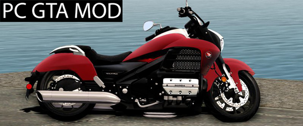 Free Download  Honda Valkyrie GL1800C 2015  Mod for GTA San Andreas.
