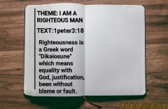 I am a Righteous Man