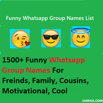 WhatsApp Group Names List