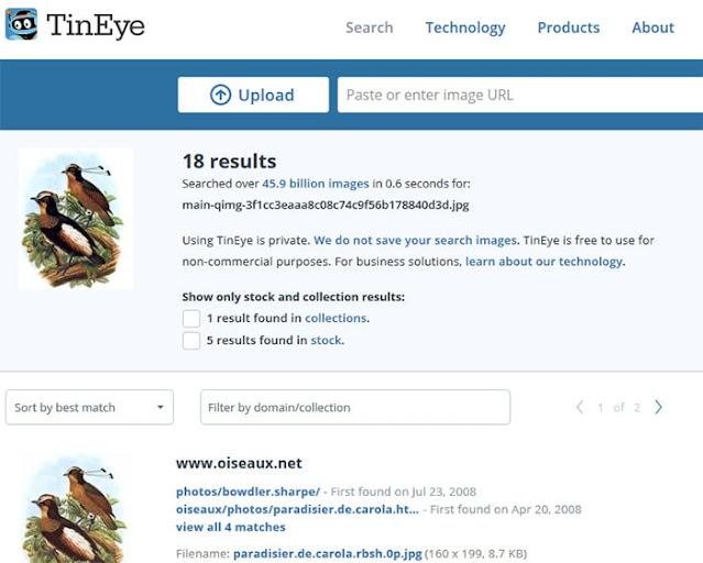 tineye reverse image search engine: eAskme