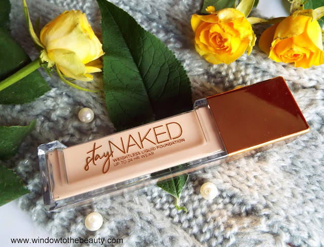 Urban Decay Stay Naked recenzja