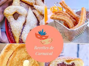 12 recettes pour mardi gras et carnaval