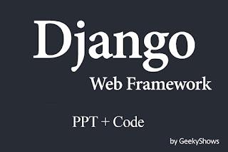 Django Study Material