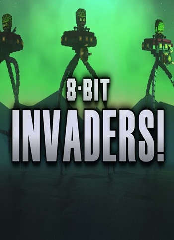 8-Bit Invaders PC Full
