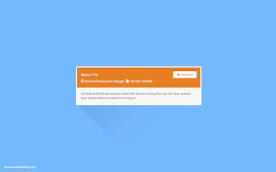 اضافة زر التحميل مع عداد للوقت بشكل مختلف لمدونات بلوجر