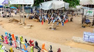 Akodessewa has a shoe market