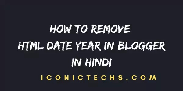 (Best Way) How To Remove Date, Year And Html From Blogger Post Url