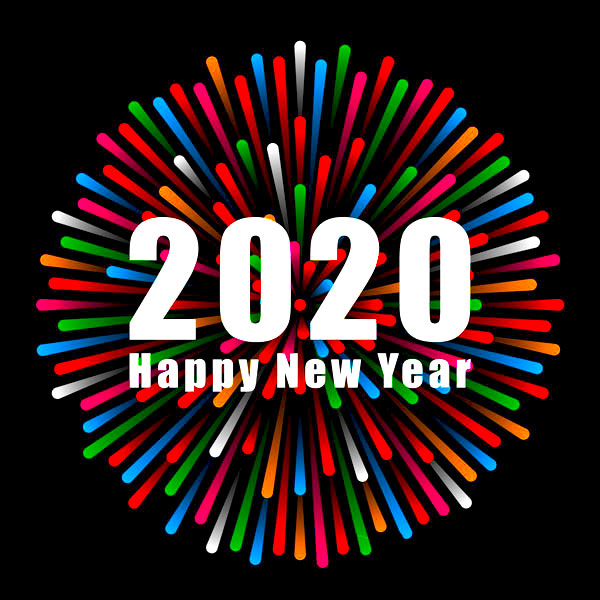 happy new year friends whatsapp dp