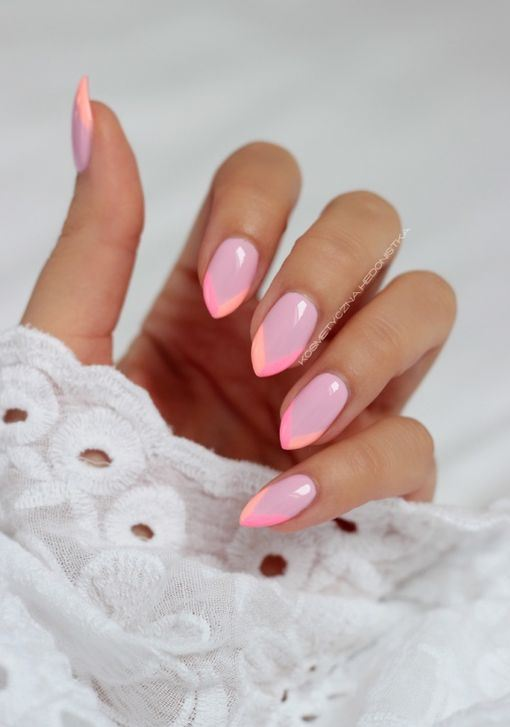 cool summer idea for nail design