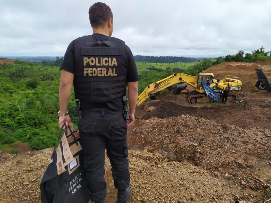 Polícia Federal deflagra a Operação BLACK HAWK em Marabá/PA