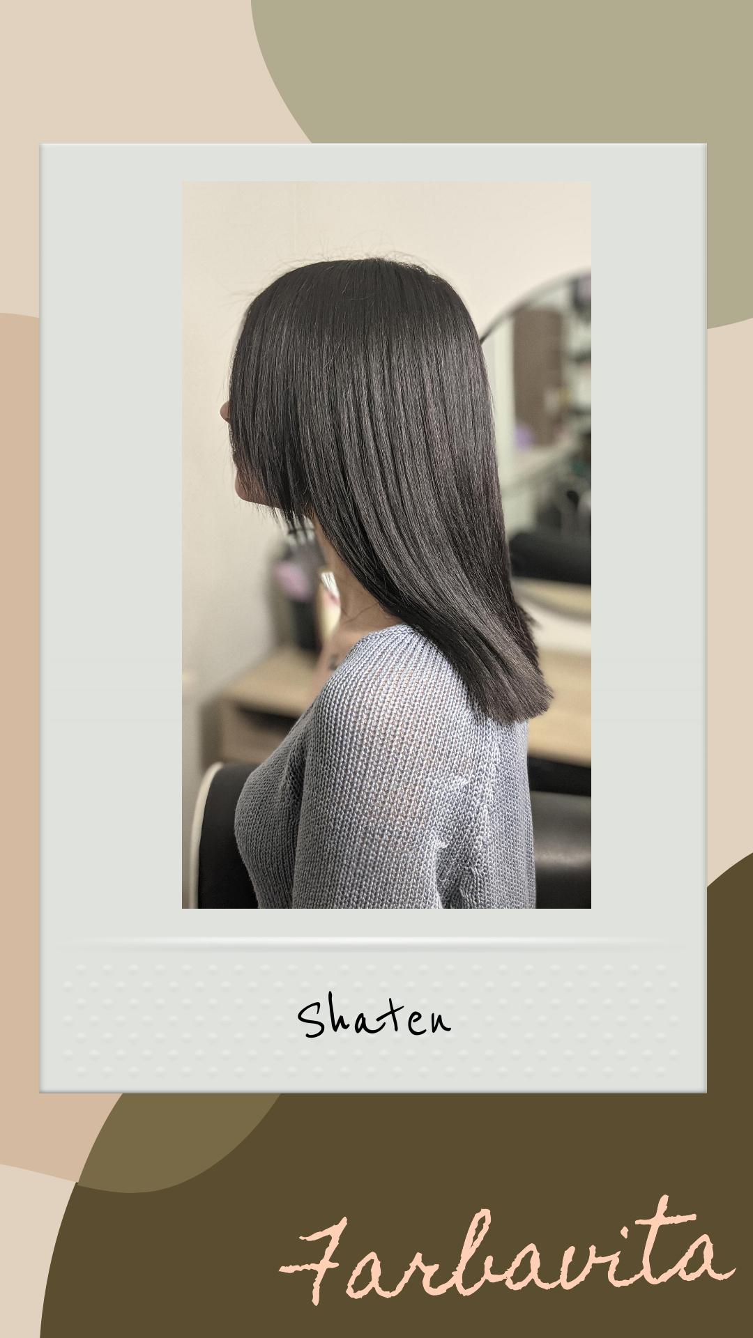 Шатенка со средними волосами фото