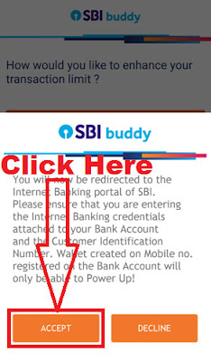 how to upgrade sbi buddy wallet through buddy wallet app