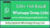 500+ Hot Whatsapp Group Link 2020