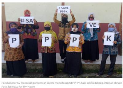PPPK Juga Dilarang Cuti, Tetapi Soal Gaji dan THR Tidak Ada yang Peduli