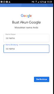 cara membuat email di hp baru