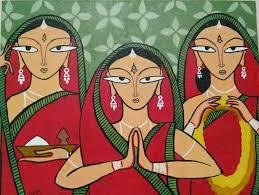 Jamini Roy painting