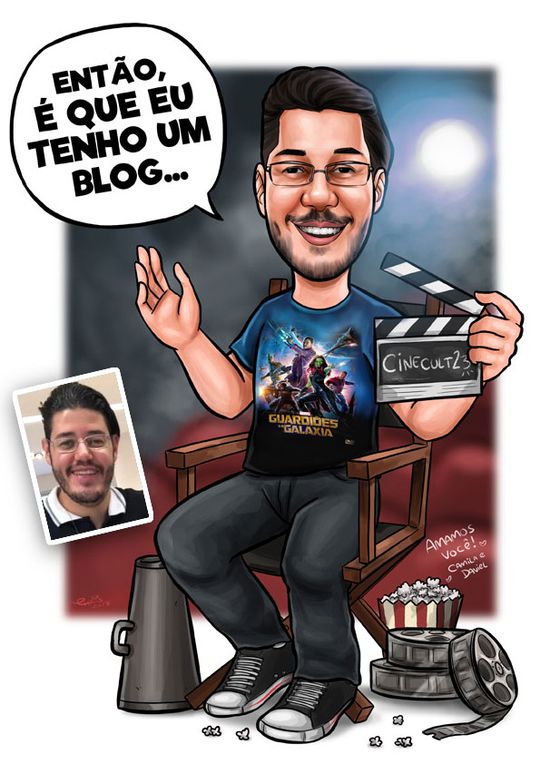caricatura cinema