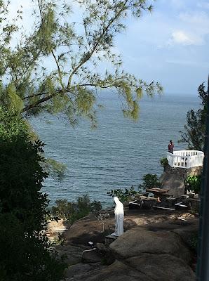 長洲思維靜院向海的一個小角落