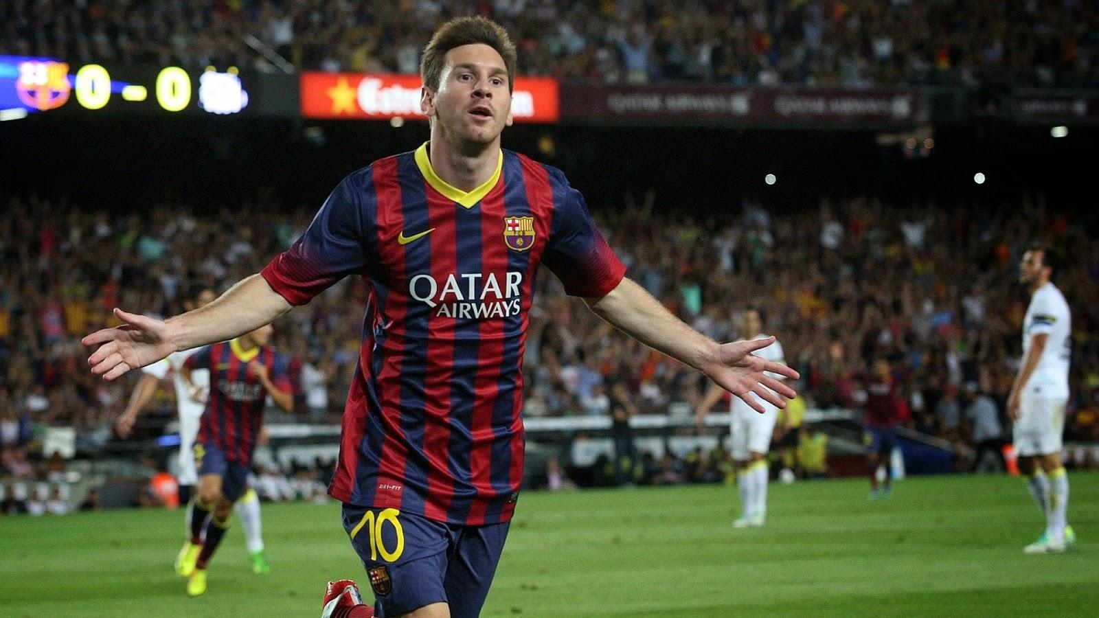 Fondo De Pantalla Linda Futbol: Lionel Messi: 20 Alucinantes Fondos De Pantalla Para Tu