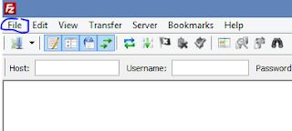 Use FileZilla - FTP1
