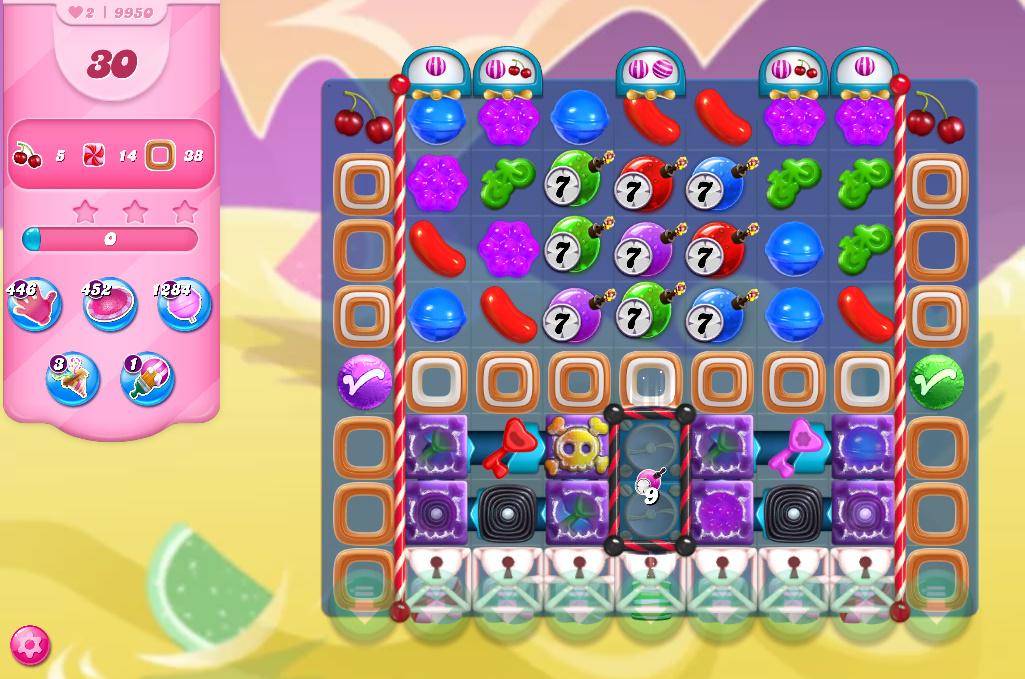 Candy Crush Saga level 9950