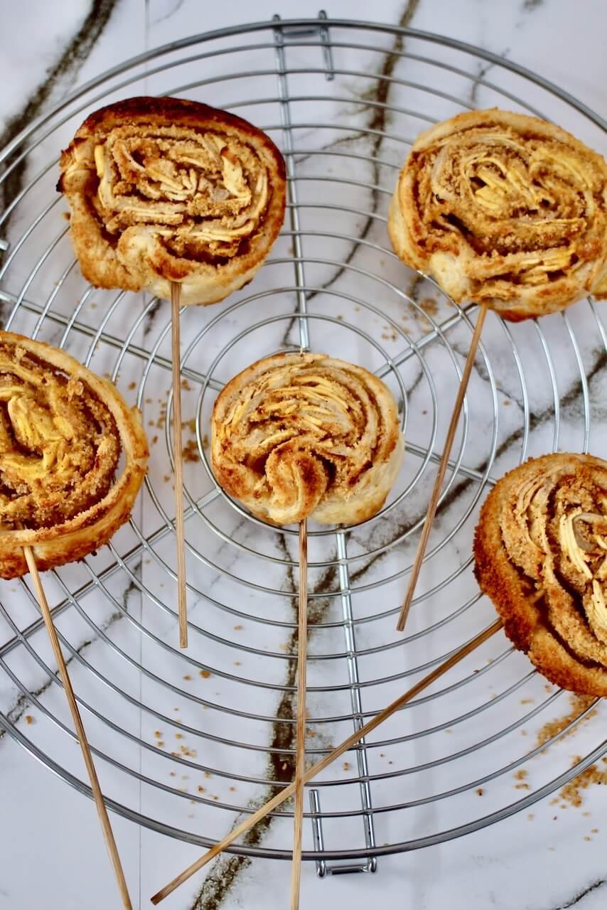 Apfelstrudel Lollies Rezept