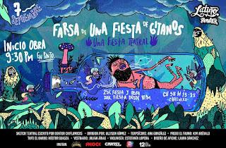 ¡Farsa de una Fiesta de Gitanos! por La Folka Rumba en Bogotá