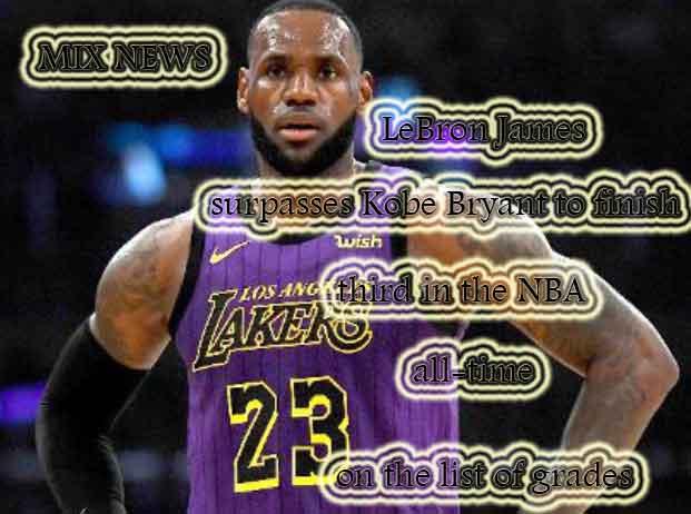 LeBron James,Kobe Bryant,NBA,grades