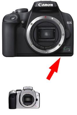 Canon EOS Kiss F DSLR Firmware Full Driversをダウンロード
