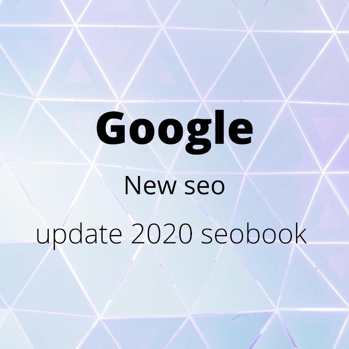 New seo update 2020 seobook |  new seo update 2020 | Seo new update news