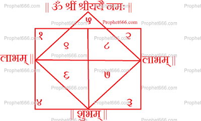 Magical Laxmi Vyapar Vridhi Yantra for Diwali