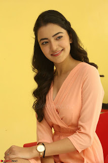 Rukshar Mir in a Peachy Deep Neck Short Dress 004.JPG