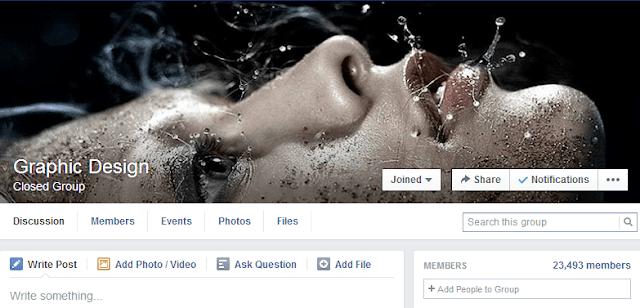 7 مجموعات على الفيسبوك يجب عليك ان تنضم اليها كونك Graphic Designer