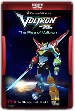 Voltron O Defensor Lendário 1ª Temporada Torrent HDTV 720p e 1080p Dual Áudio
