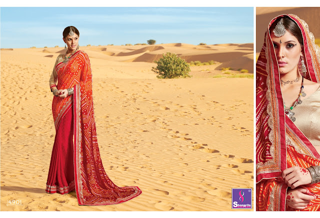 Buy Online Traditional Bandhani Saree Collection at Wholesale Price.