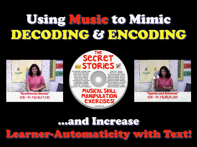 Secret Stories® Phonics Secrets—  Mimicking Decoding and Encoding with Music!