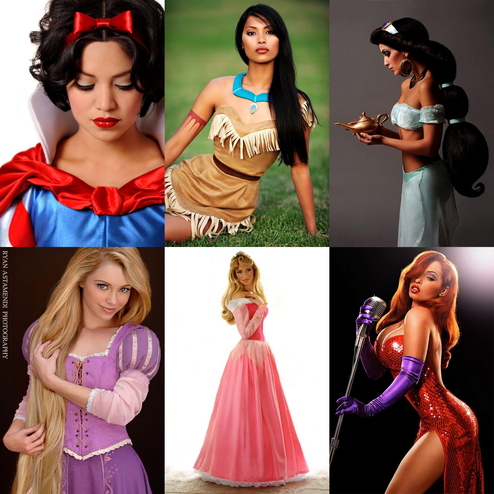 Disney Princess: A Fine Mess: Disney Look-Alikes