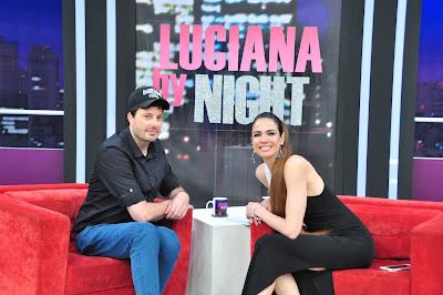 Danilo Gentili e Luciana Gimenez - Crédito: Fernanda Simão/ Divulgação RedeTV!