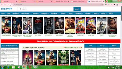 Todaypk 2020 - Illegal HD Movies Download Website